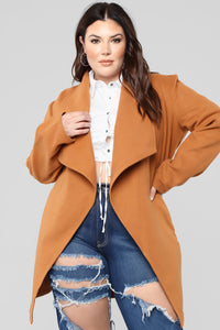 Manhattan Coat - Cognac Angle 7