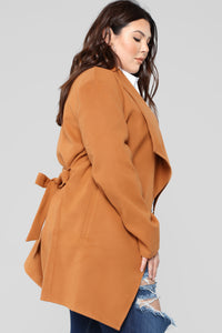 Manhattan Coat - Cognac Angle 11