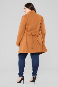 Manhattan Coat - Cognac Angle 12