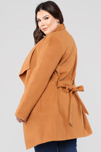 Manhattan Coat - Cognac Angle 9