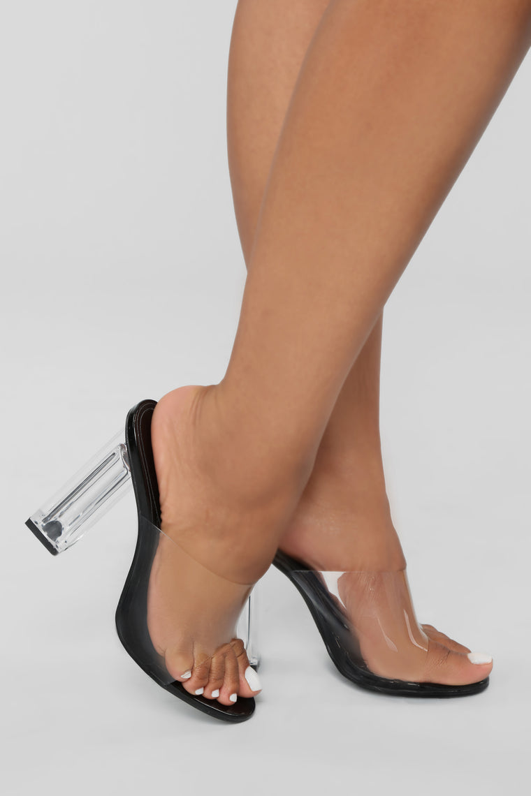 Raise A Glass Heel - Black