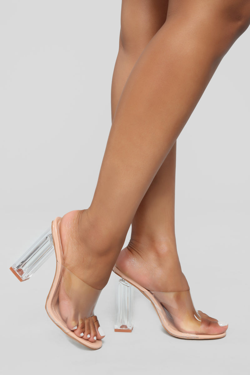 Raise A Glass Heel - Nude