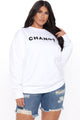 Change For The Better Sweatshirt - White