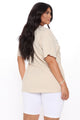 Bardi Gang Top - Taupe