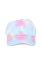 Brighten My Day Tie Dye Cap - Multi Color