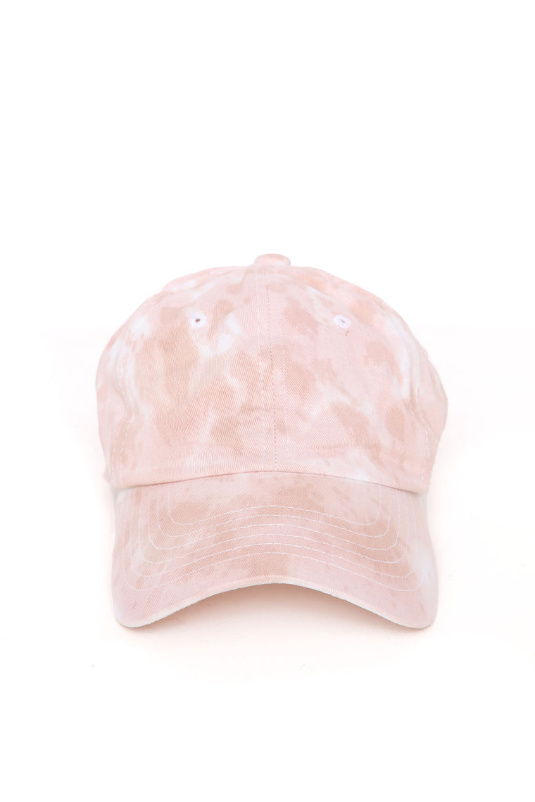 Keep It Neutral Tie Dye Cap - Beige