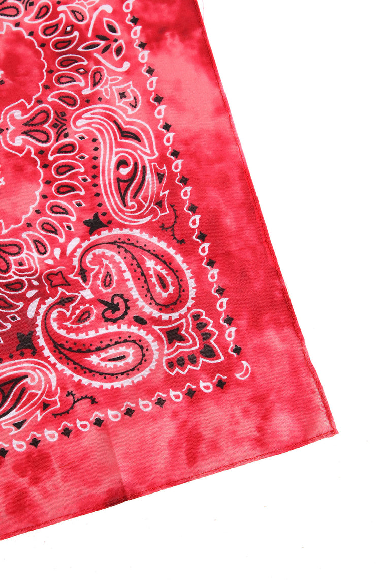 Break From Reality Square Bandana - Red