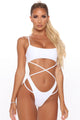 Sweet Summer Nights 2 Piece Bikini - White