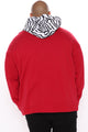 Anonymous Hoodie - Red/combo