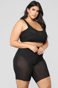 Kiss And Tell Cover-Up Set - Black