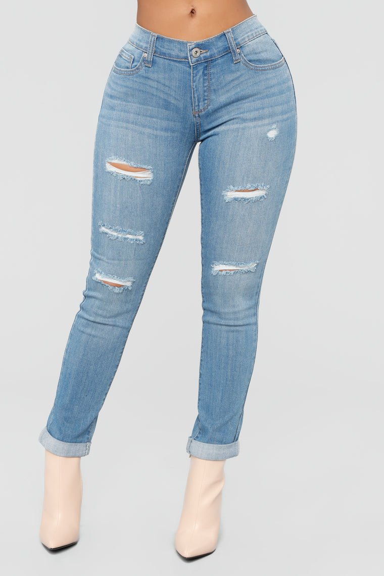 Feeling This Way Jeans - Medium Wash