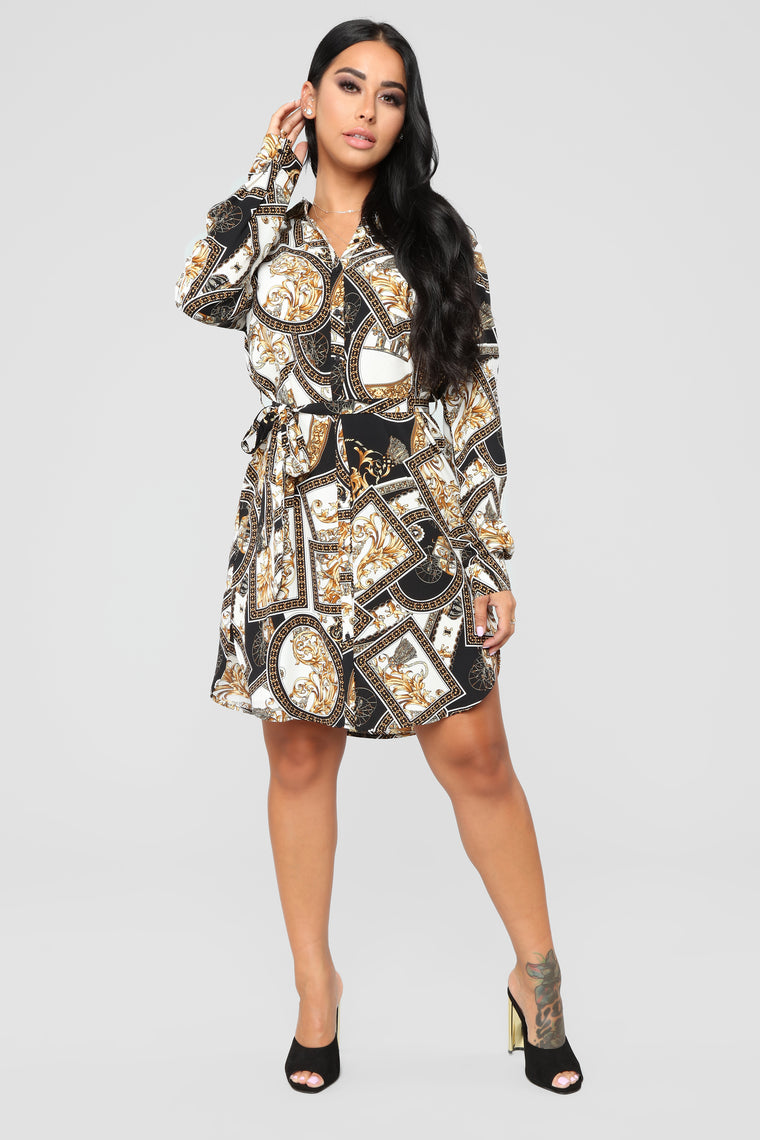 Galleria And Chill Dress - Black