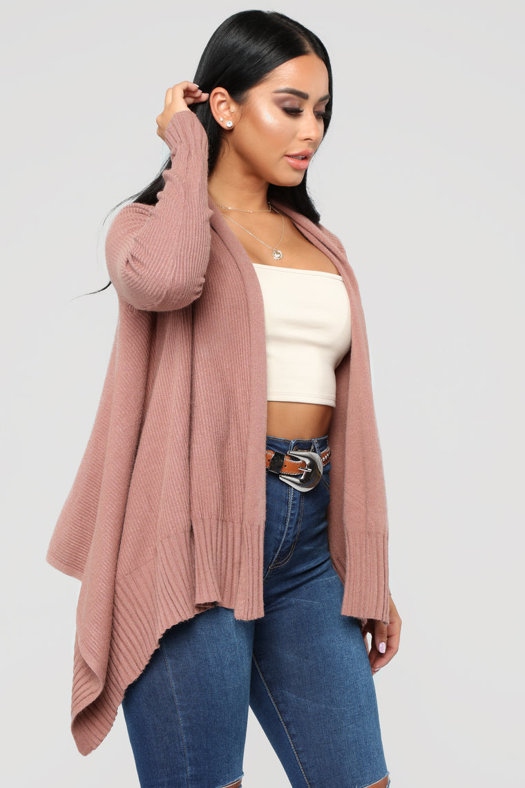 Heartbreak Hotel Cardigan - Mauve