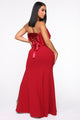 The True Meaning Maxi Dress - Burgundy