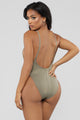 Standout Swimsuit - Dark Taupe