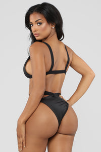 On Guard Bikini Set - Black