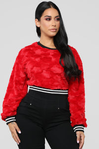 Game Changer Sweater - Red