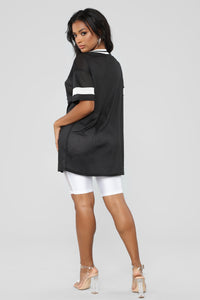 Before Anyone Else Tunic Top - Black