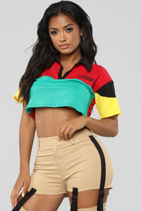 Daddy's Dime Top - MultiColor