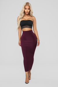 Across The Universe Skirt - Plum