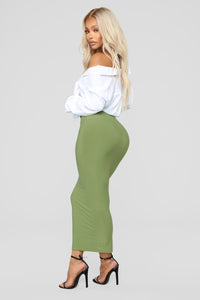 Across The Universe Skirt - Sage