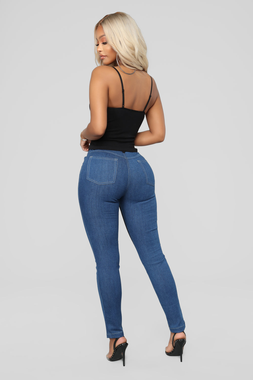 Loosing It Skinny Jeans - Dark Denim