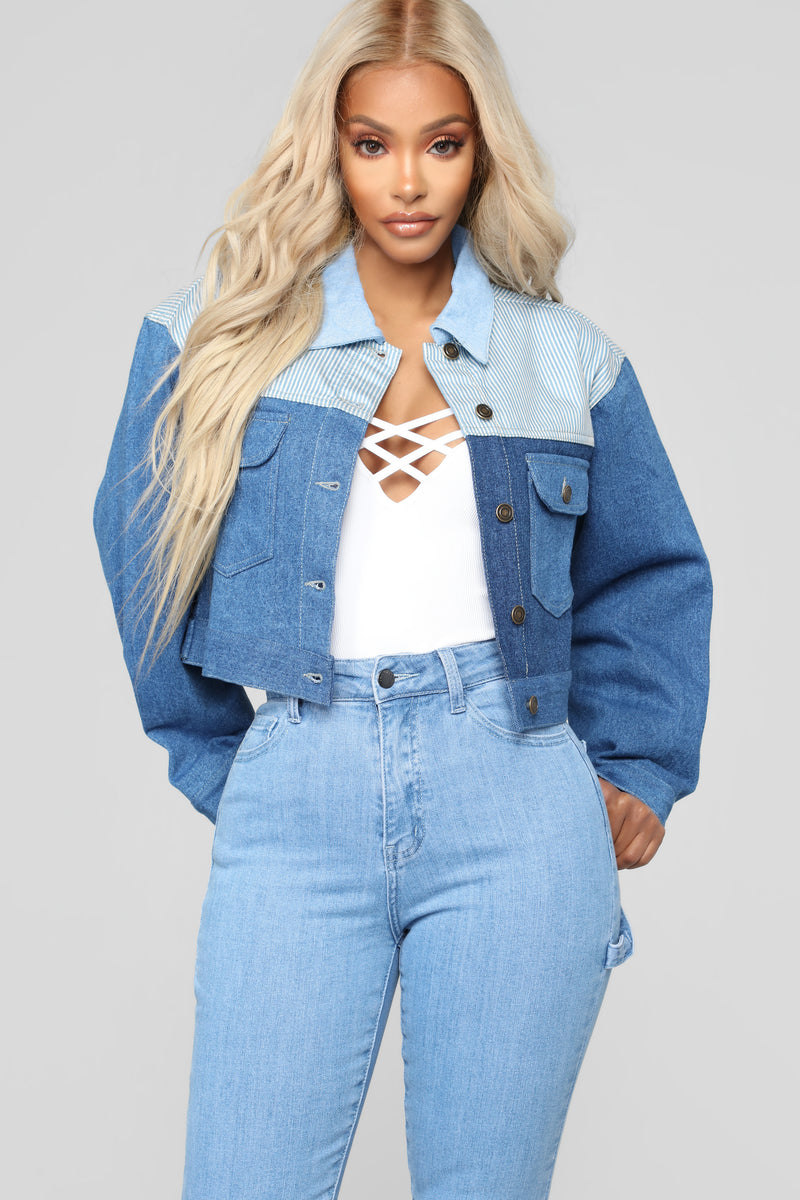 Best Friend Denim Jacket - Medium
