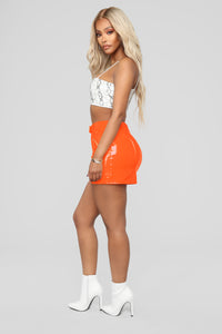 Club Night Skirt - Orange