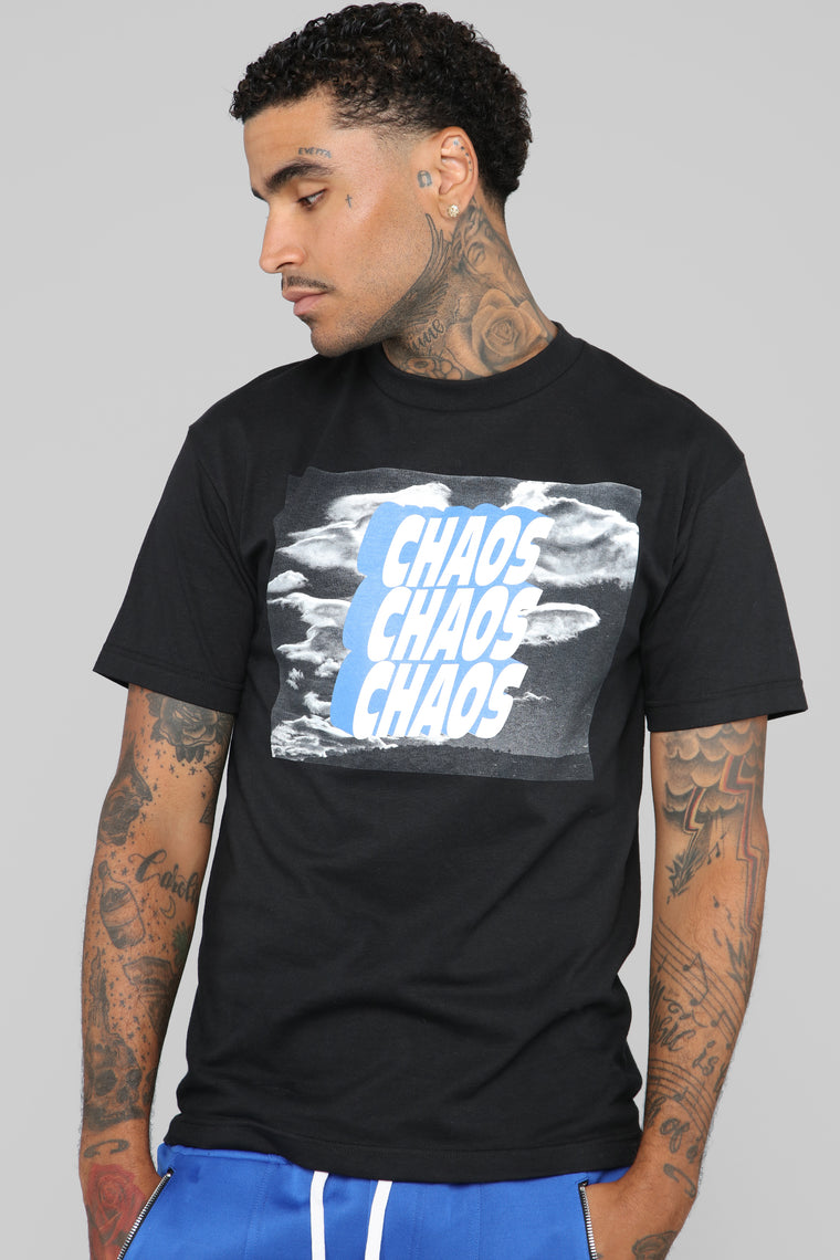 I Like Chaos Tee - Black