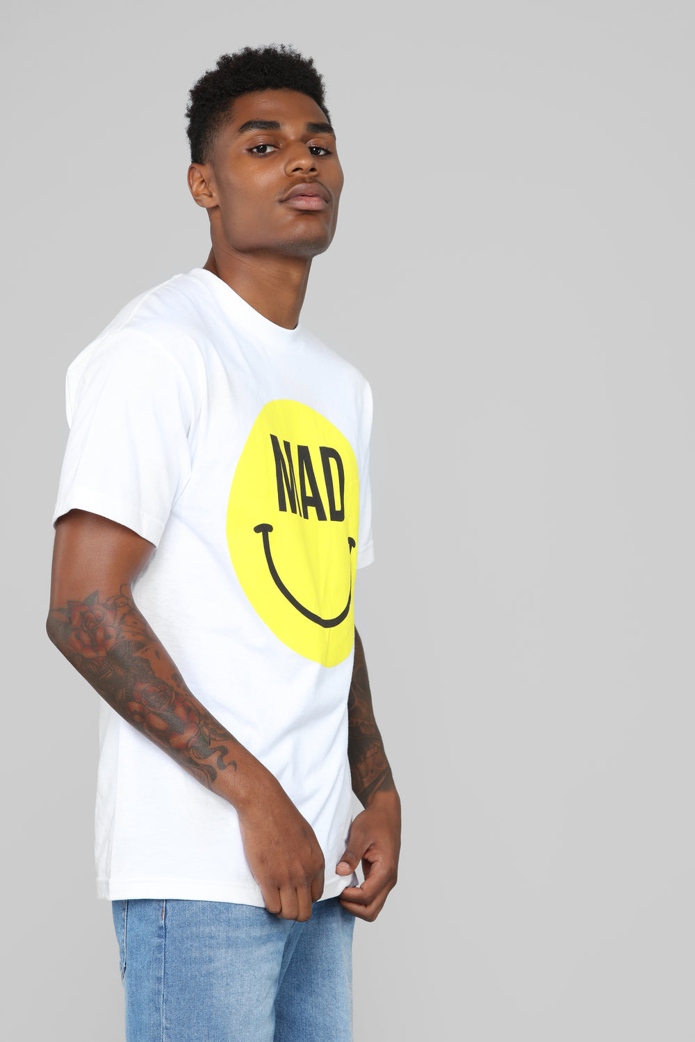 You Mad Bro Tee - White