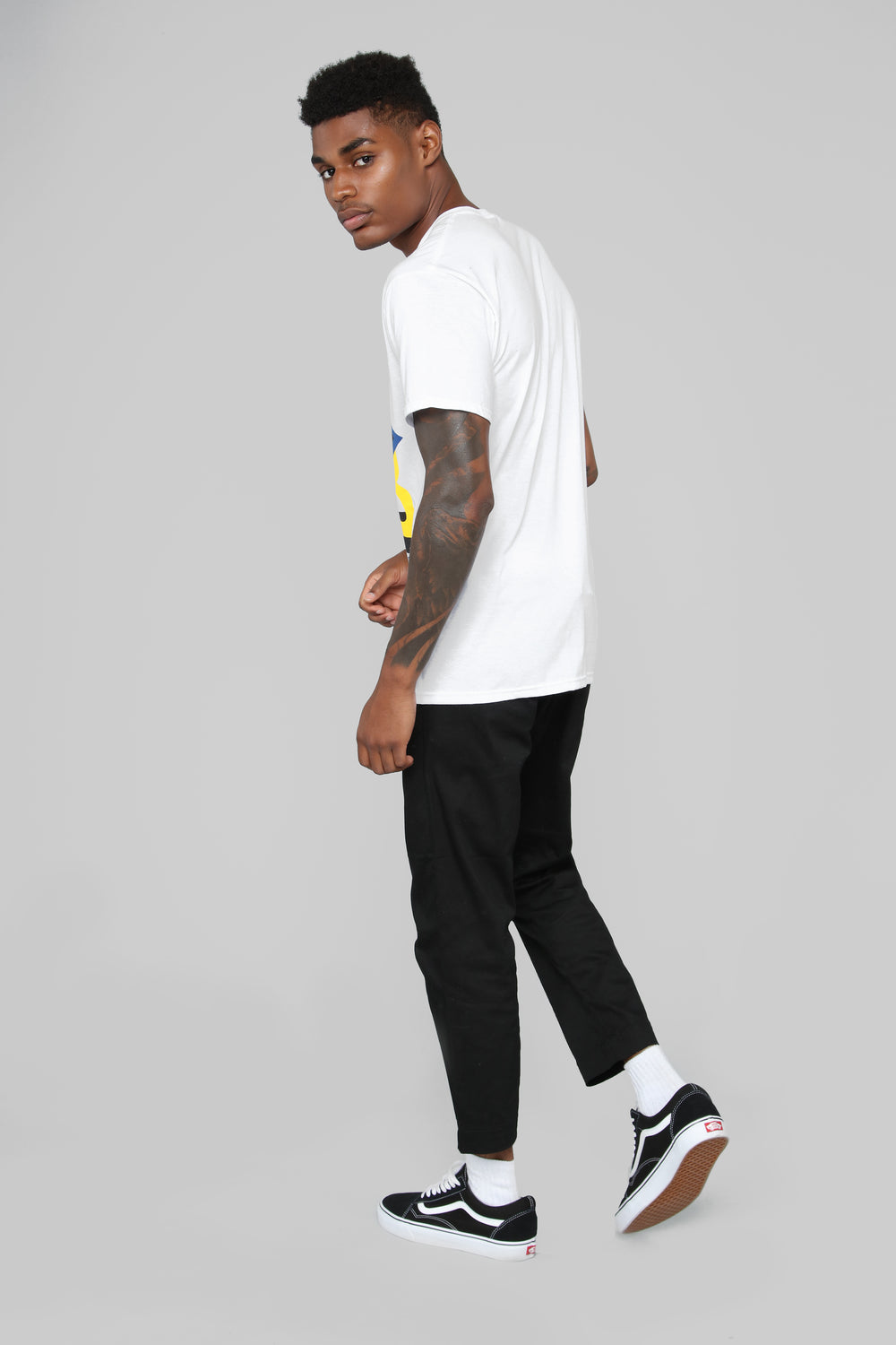 All City Comp Short Sleeve Tee - White