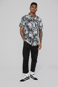 Jefferson Button Up Shirt - Black