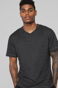Spencer Short Sleeve Tee - Black