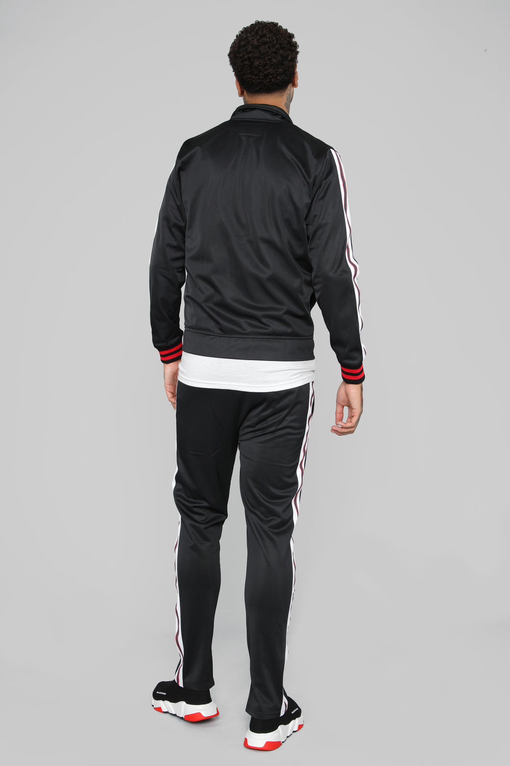 Jones Track Jacket - Black