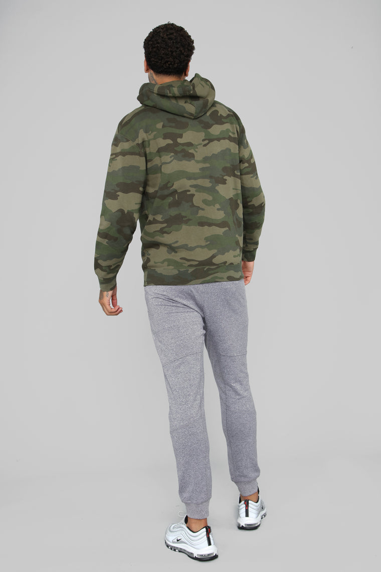 My Go To Pull-Over Hoodie - Camo