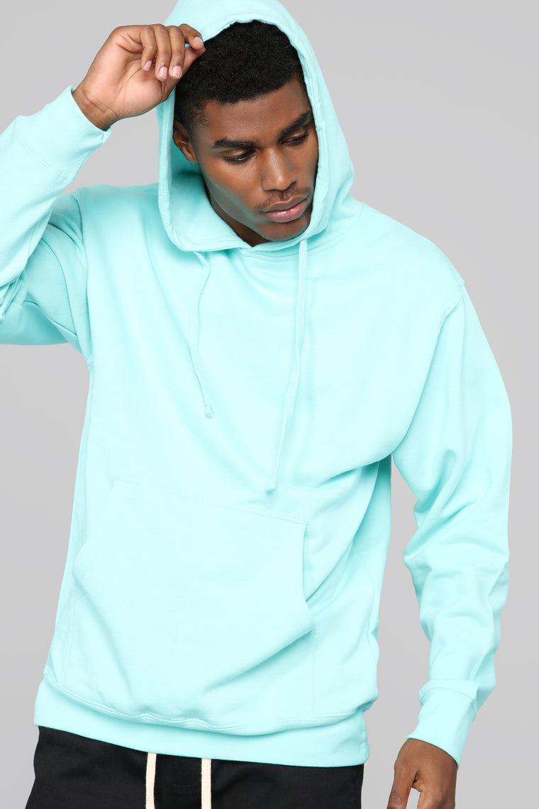 My Go To Pull-Over Hoodie - Teal