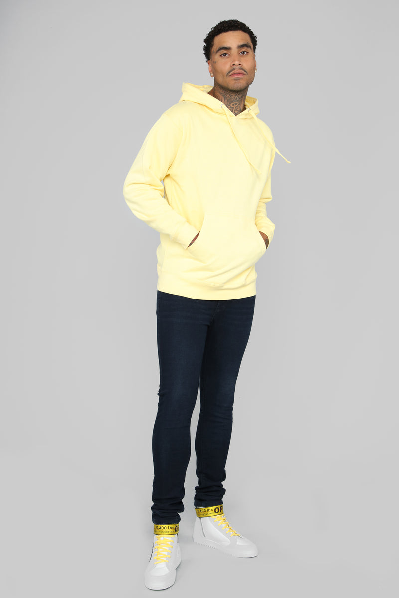 My Go To Pull-Over Hoodie - Yellow