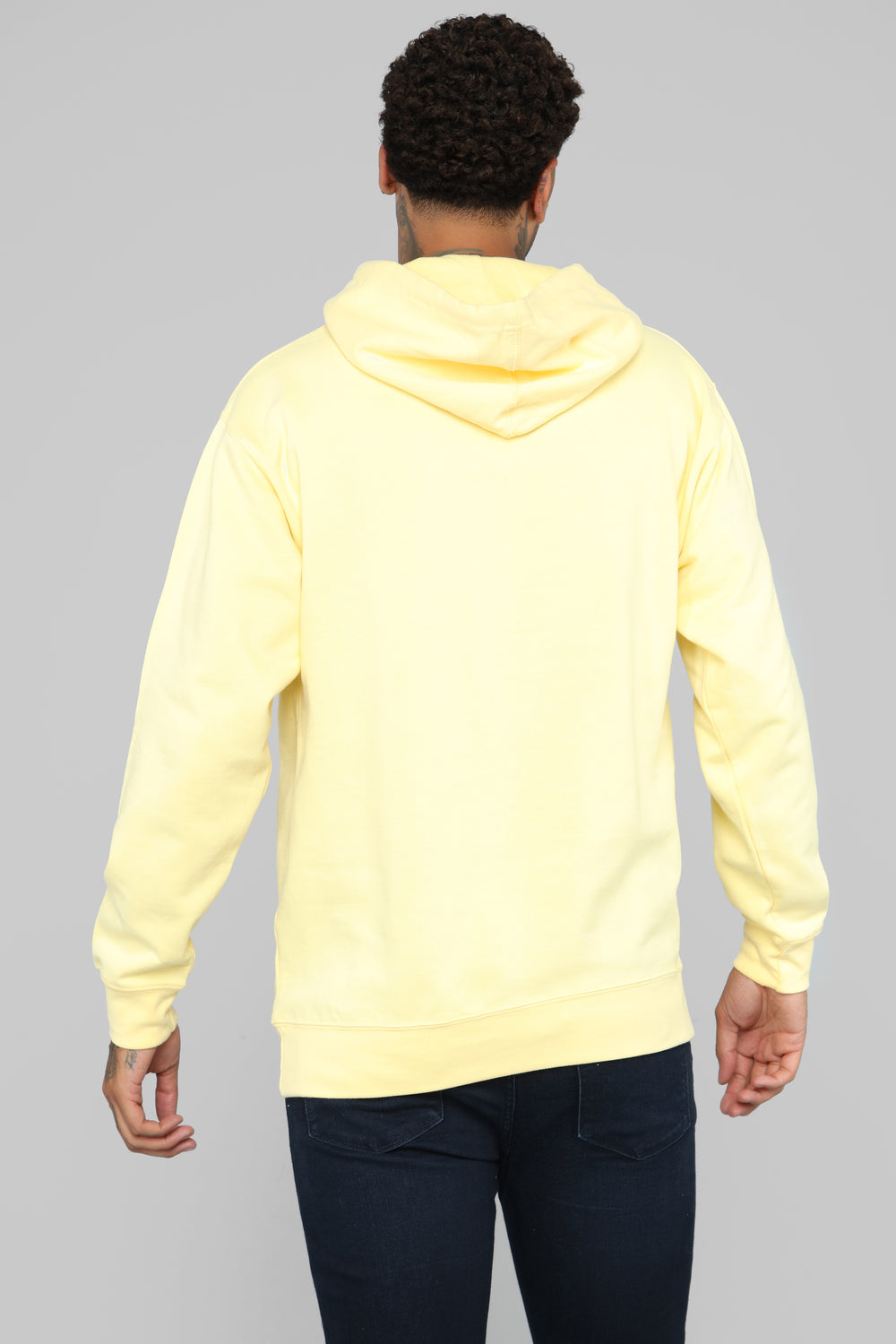 My Go To Hoodie - Yellow