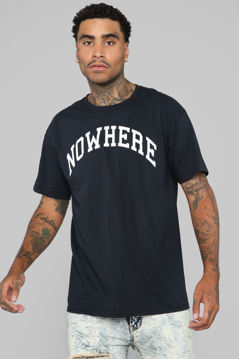 Nowhere Tee - Black