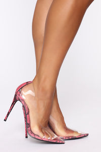 Crystal Pumps - Pink