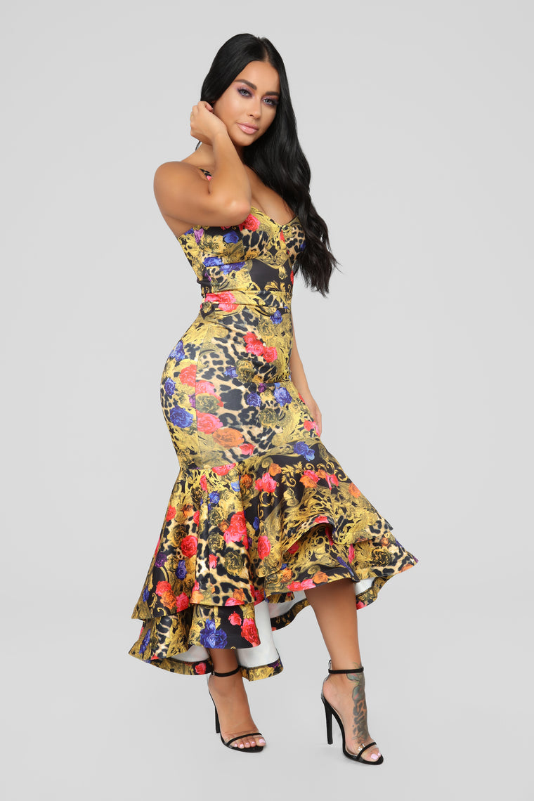 Nothing Is Impossible Dress - MultiColor