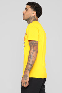 All Hail The King SS Tee - Yellow