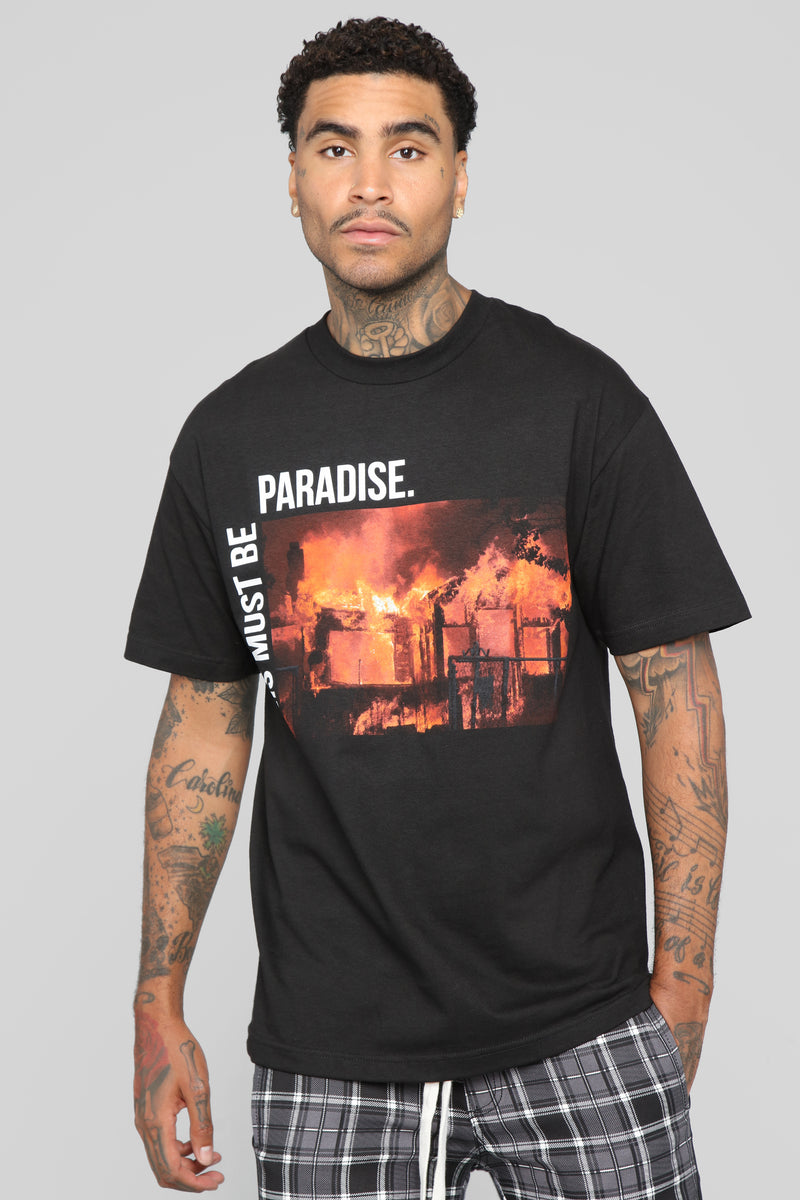 This Must Be Paradise Tee - Black