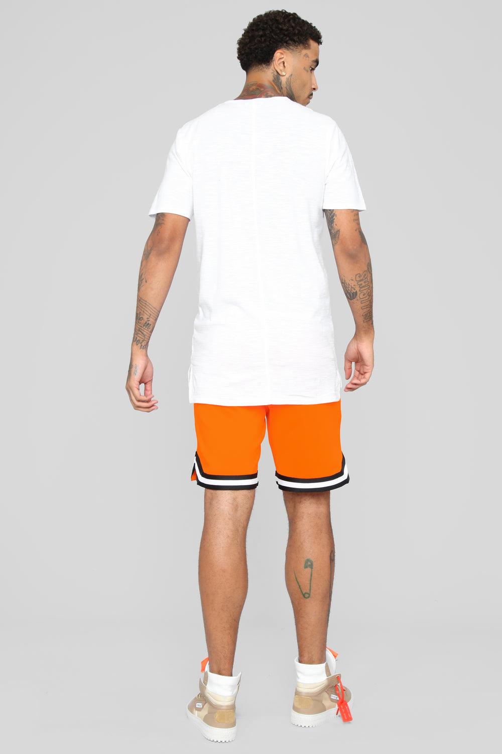 Duval Basketball Shorts - Orange