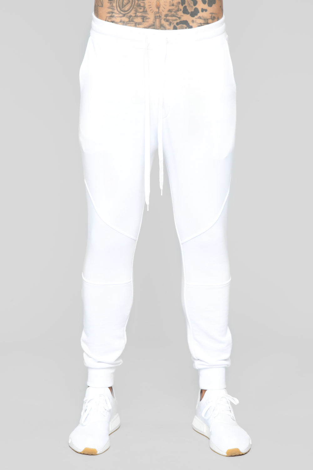 Estate Jogger Pants - White
