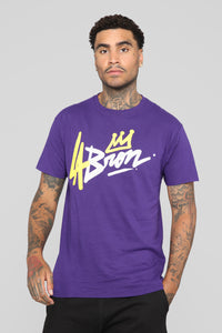 Going For Gold Short Sleeve Tee - Purple