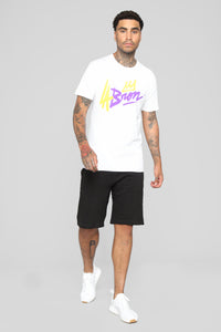 Going For Gold Short Sleeve Tee - White