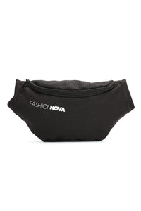 Fashion Nova Fanny Pack - Black Angle 1