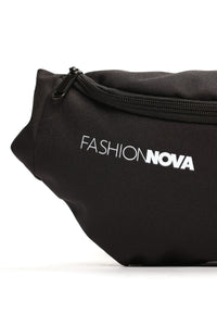 Fashion Nova Fanny Pack - Black Angle 3