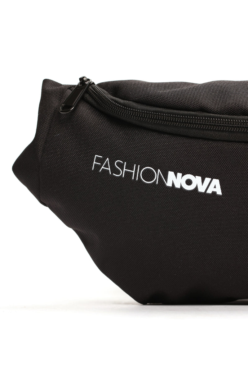 Fashion Nova Fanny Pack - Black